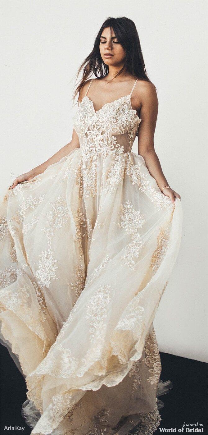 """Aria Kay 2018 """"Himalaya Salt + Milkyway"""" Bridal Collection"""