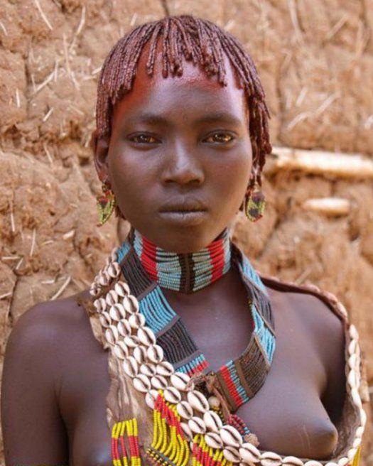 Женская красота диких племен планеты (100 фото)