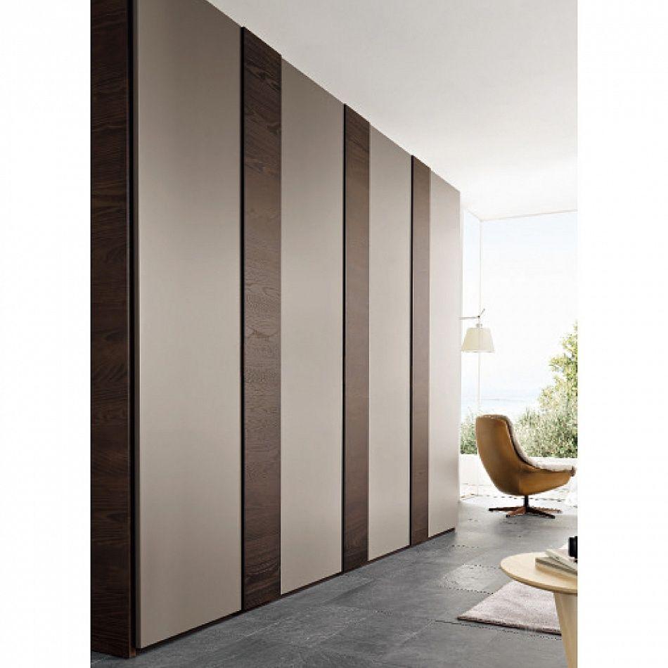 Luxury Hinged Door Modern Italian Wardrobe Vertical