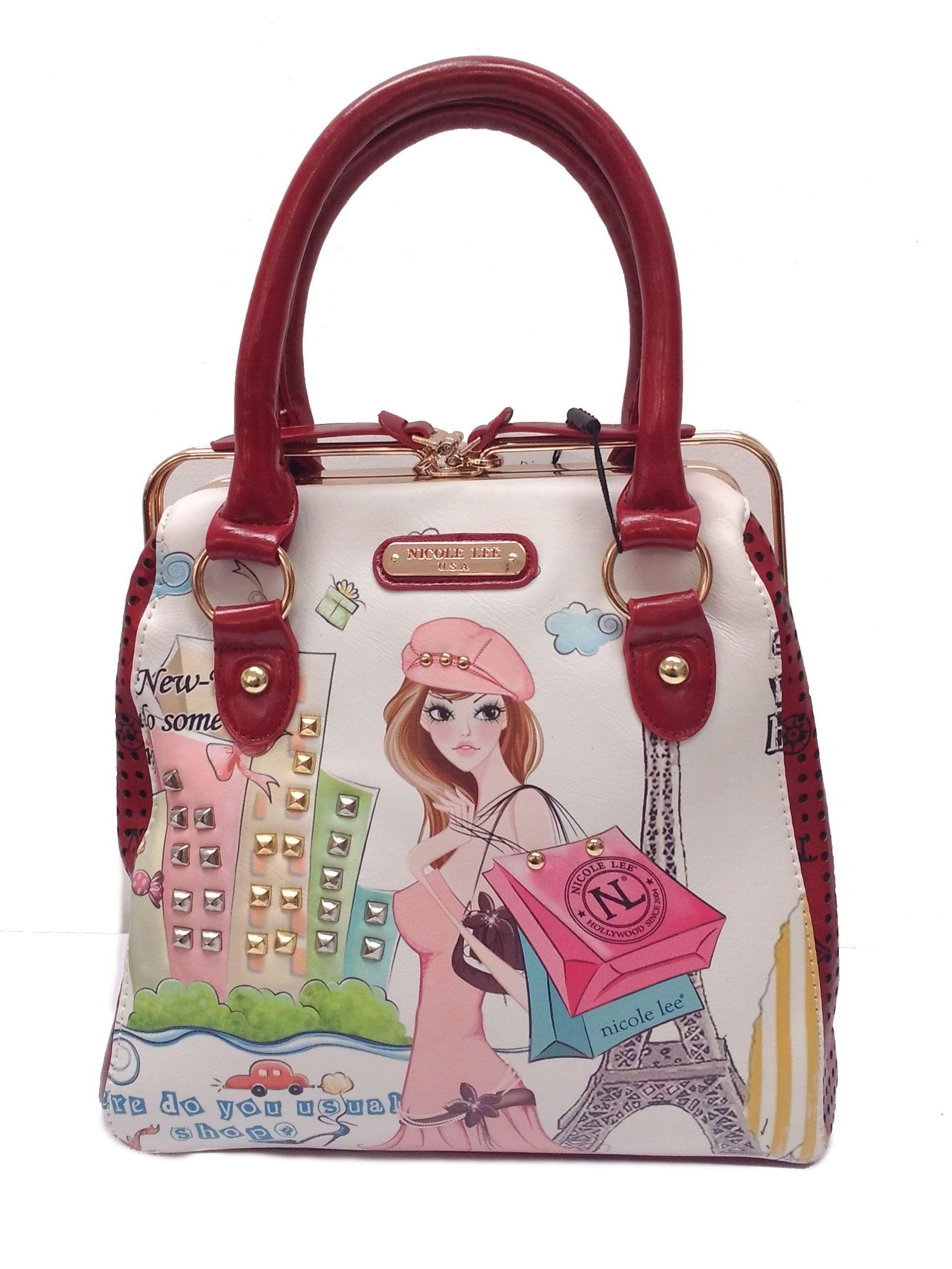 e516f987b Cartera tipo bolso Nicole Lee. | Bags. | Nicole lee handbags ...