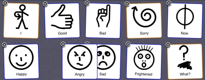 Makaton Signs And Symbols To Print Google Search Pictos Et