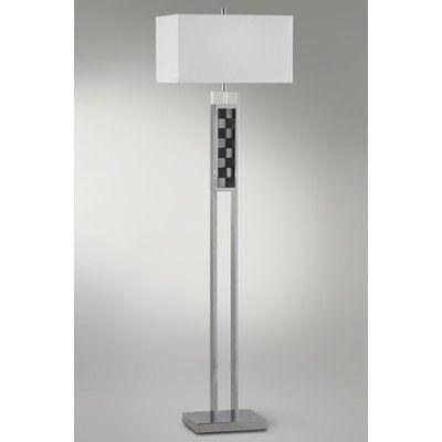 """Nova Textura 62"""" Floor Lamp"""