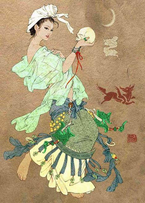 10 Greatest Demons Of Chinese Underworld Chinese Mythology Japanese Art Asian Art