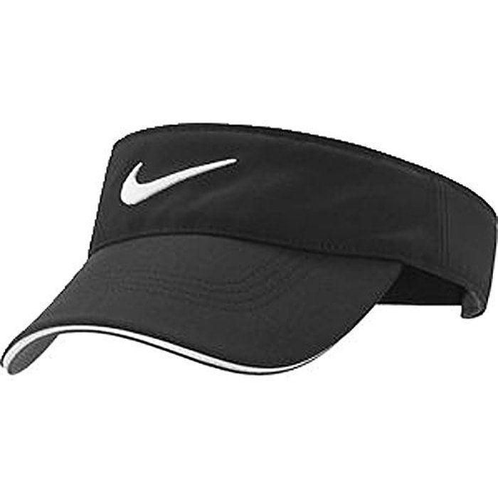 0cb37d186d5d1 Nike Golf -Tech Tour Visor Cap Hat Adjustable Black 727033-010