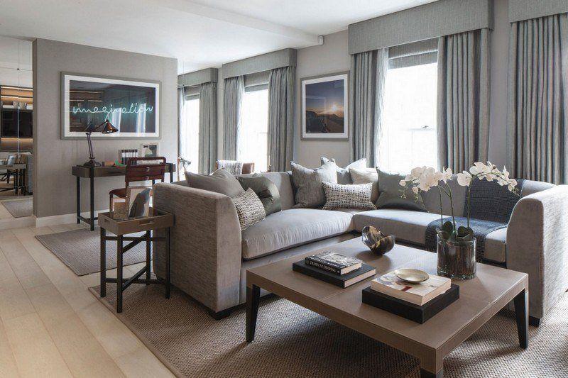 Salon marron beige – 57 idées de déco chouettes | Interiors