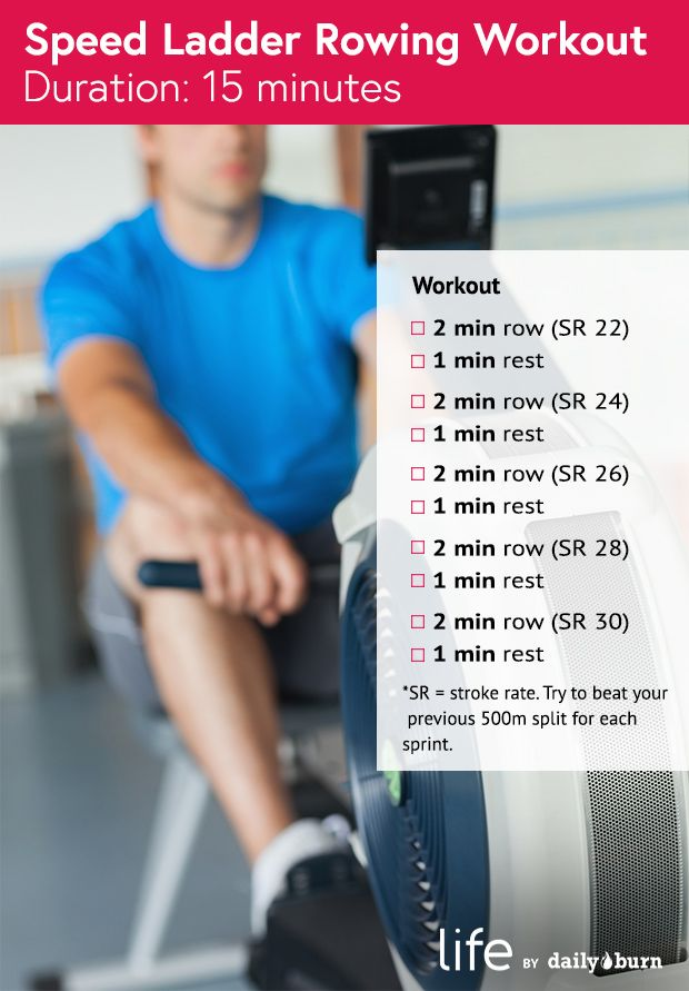 what does rowing machine workout