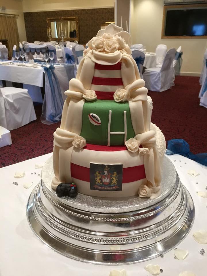 Hidden Wedding Cake Rugby Wigan Warriors Wedding Pinterest - Wedding Cakes Wigan