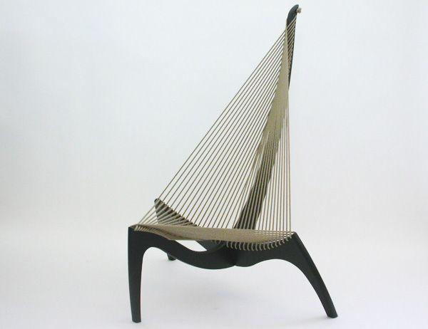 Jorgen Hovelskov - Harp Lounge Chair (1968)
