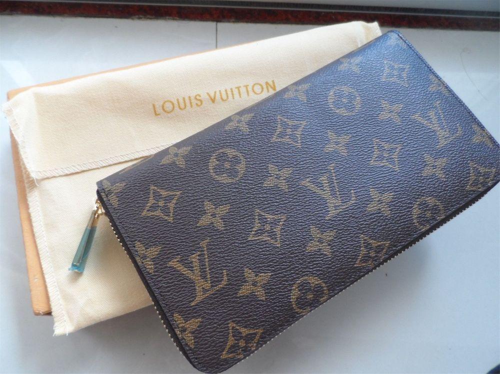 a7f590709618 Authentic LOUIS VUITTON Monogram Canvas Zippy Wallet Zip Around purse   fashion  clothing  shoes  accessories  womensaccessories  wallets (ebay  link)