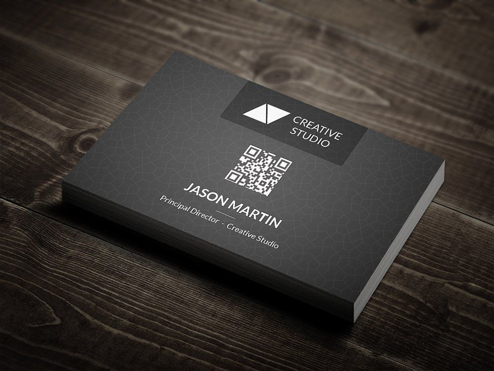 Metro Dark Corporate Business Card DPIbleedperfectcard