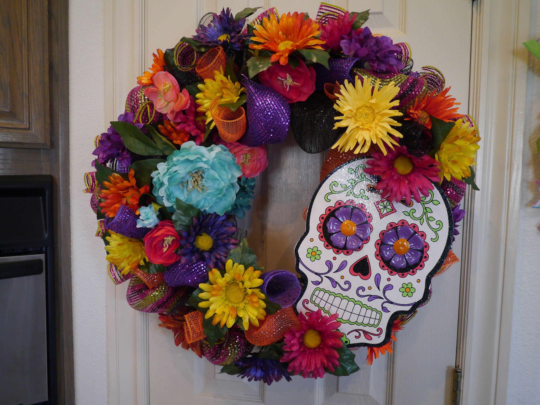 Dia De Los Muertos, Day Of The Dead Wreath, Free
