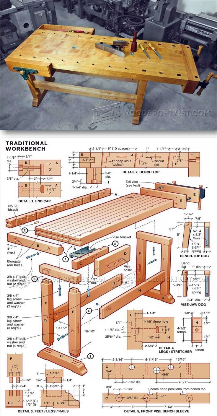 DIY Workbench Workshop Solutions Projects Tips