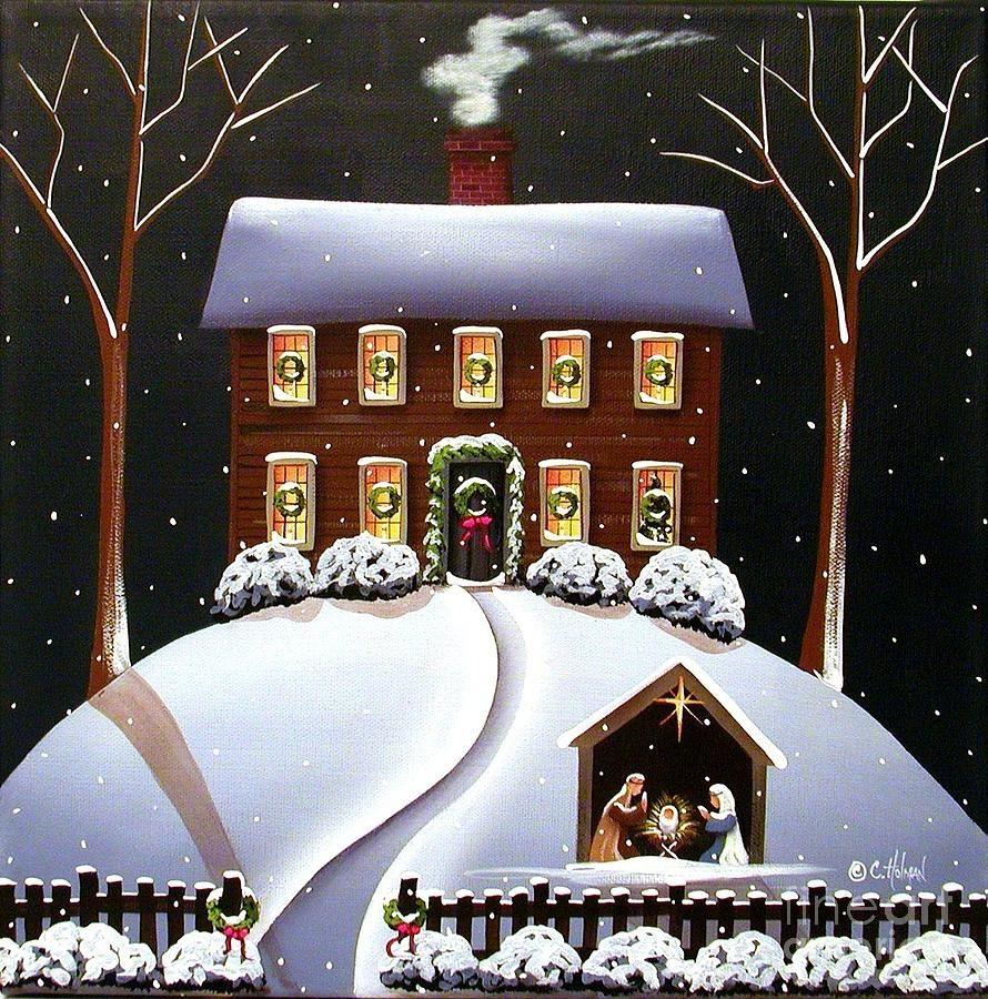 Nativity  ----- Catherine Holman