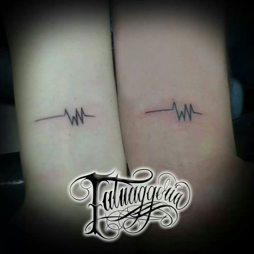 Why You Should Or Shouldn T Get A Watercolor Tattoo: Electrocardiogram Tattoo