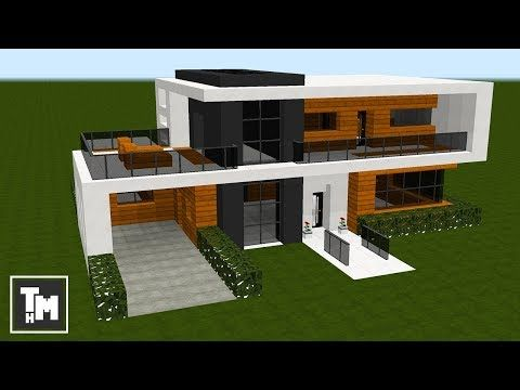 Minecraft How To Build a Small Modern House Tutorial Easy Episode 1 2018