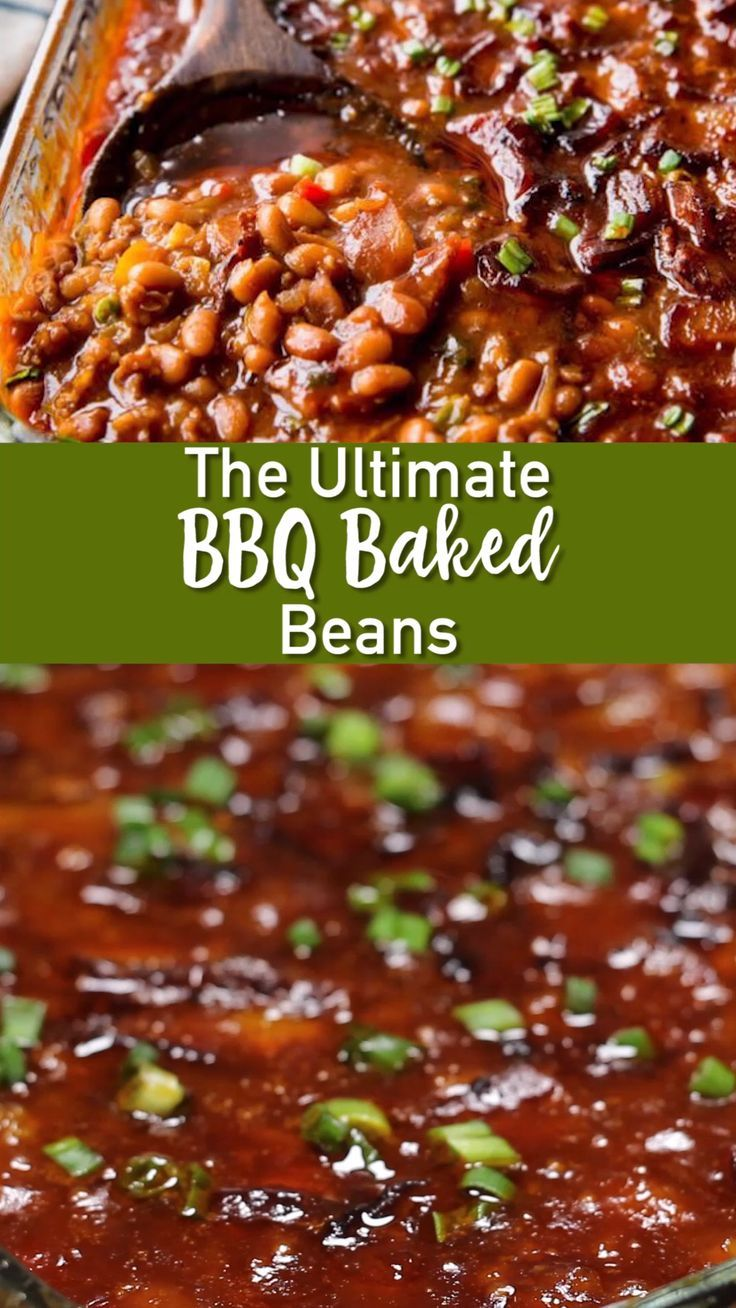 The Ultimate BBQ baked beans