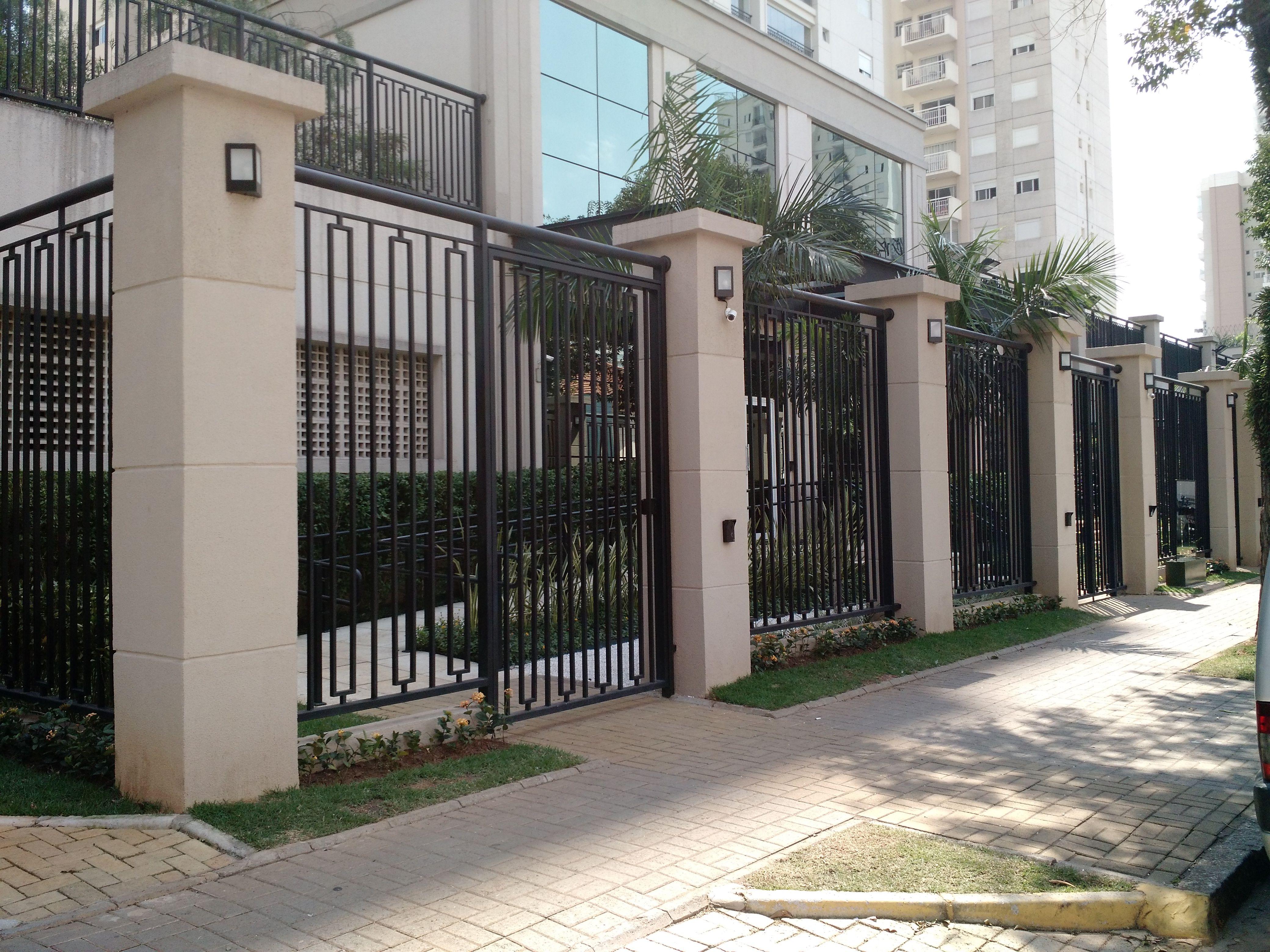 Projeto da entrada de pedestres do Condomínio Família Ipiranga, em parceria com o arquiteto Marco Antonio - http://luizmafraarquiteto.wix.com/luizmafra  #luizmafraarquiteto  #designdeexteriores #arquitetura
