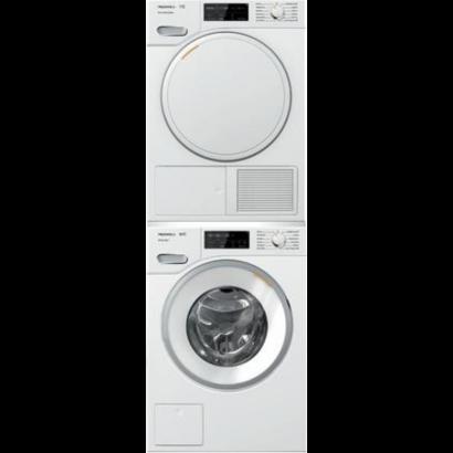 Miele Wwb020wcs W1 Washer And Twb120wp T1 Dryer Stacked Miele Washer Dryer Electrolux Washer Ventless Dryer