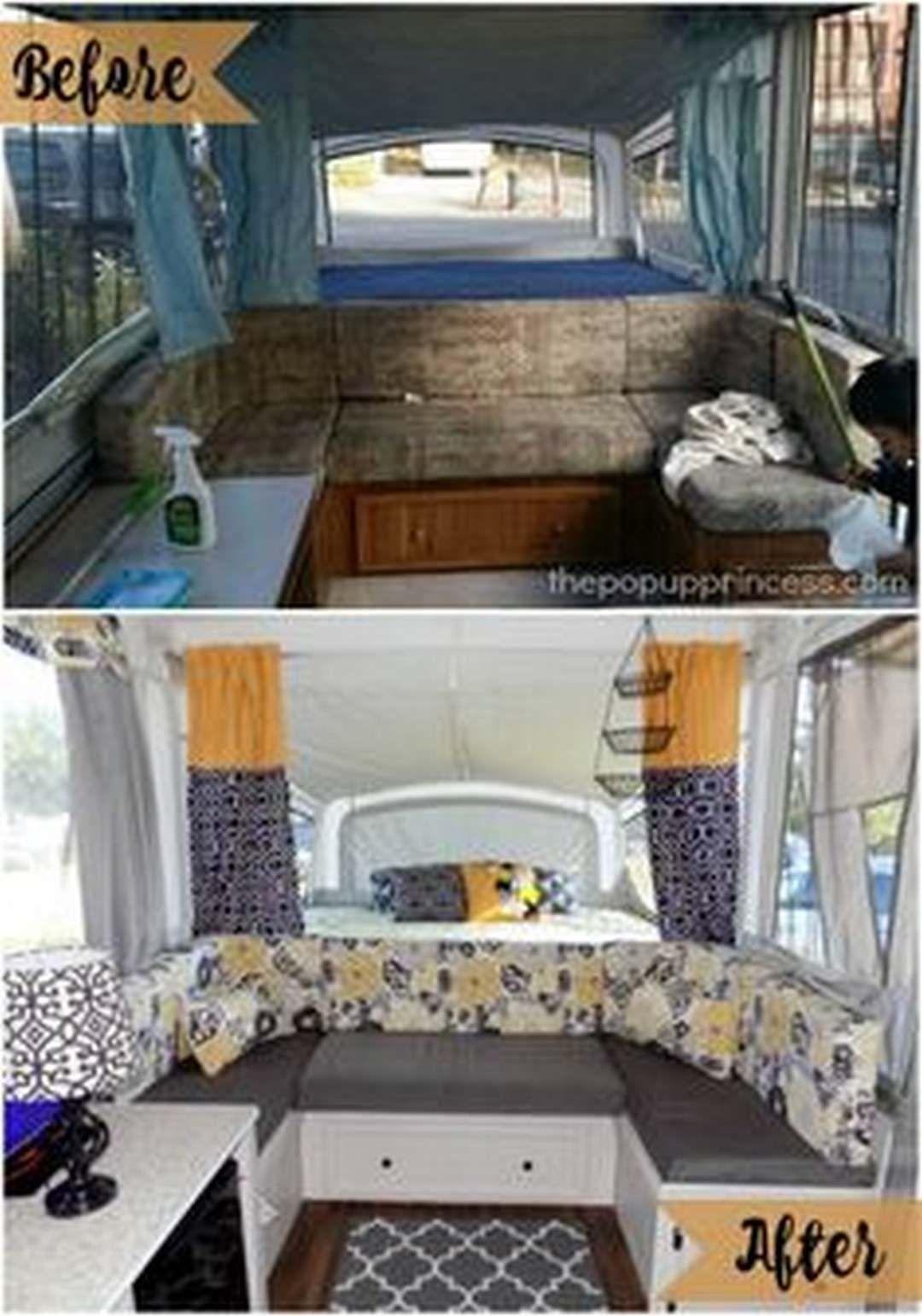 14 Pop Up Camper Makeover Ideas On A Budget Diy Remodel