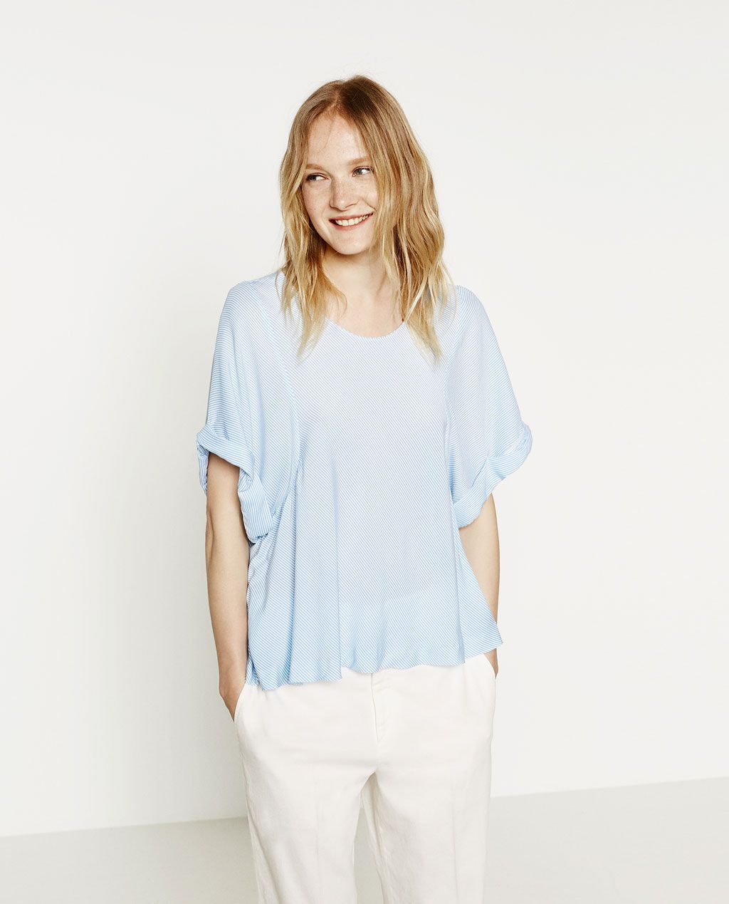 Immagine 2 di TOP A RIGHE di Zara