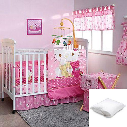 Hello Kitty Caramelo 8pc Crib Beding Set Crib Size Bundled With