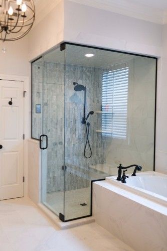 Master Bathroom With Steam Shower Kbf Design Gallery Bathrooms Remodel Mold In Bathroom Inexpensive Bathroom Remodel