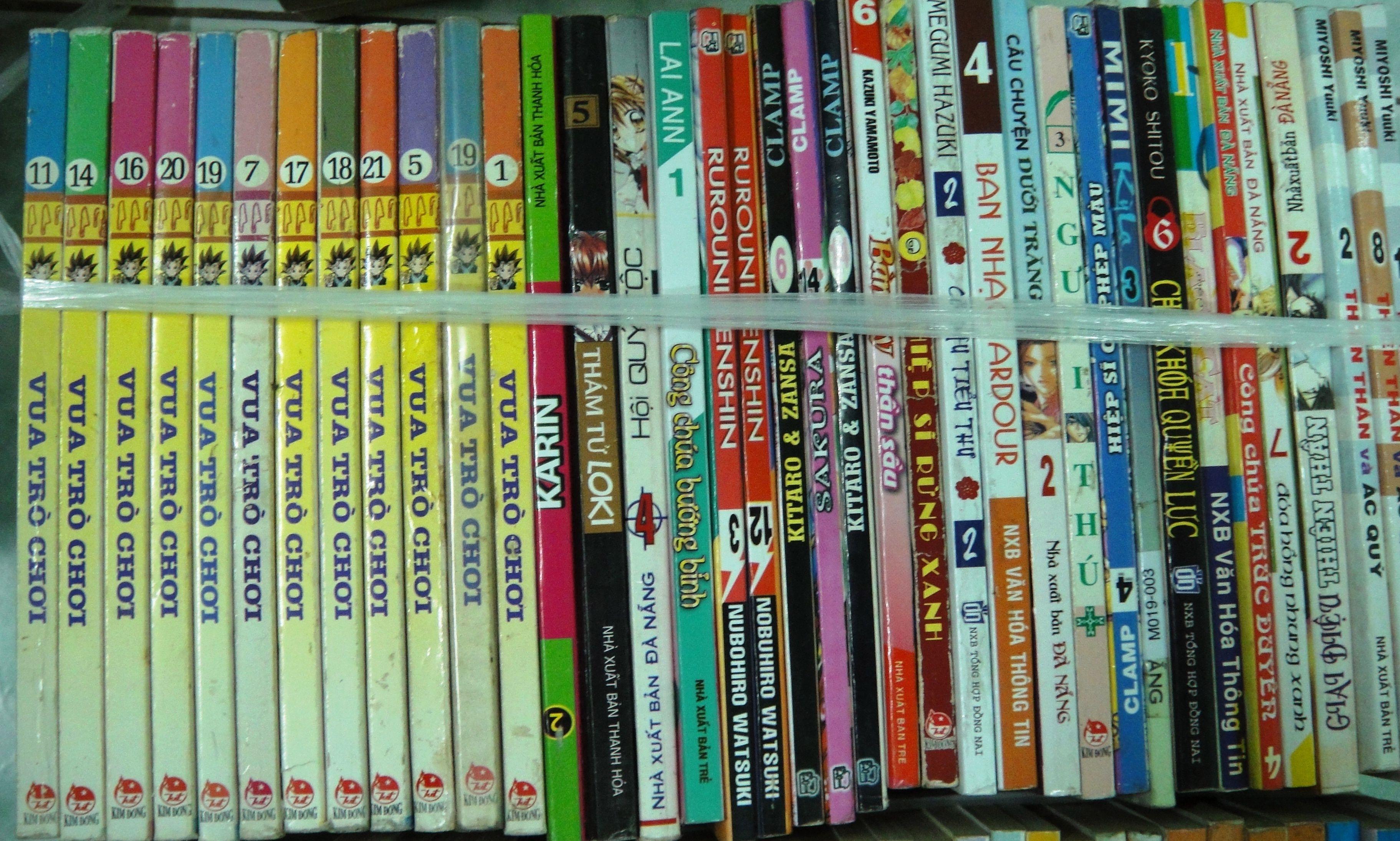 Image result for bán truyện tranh