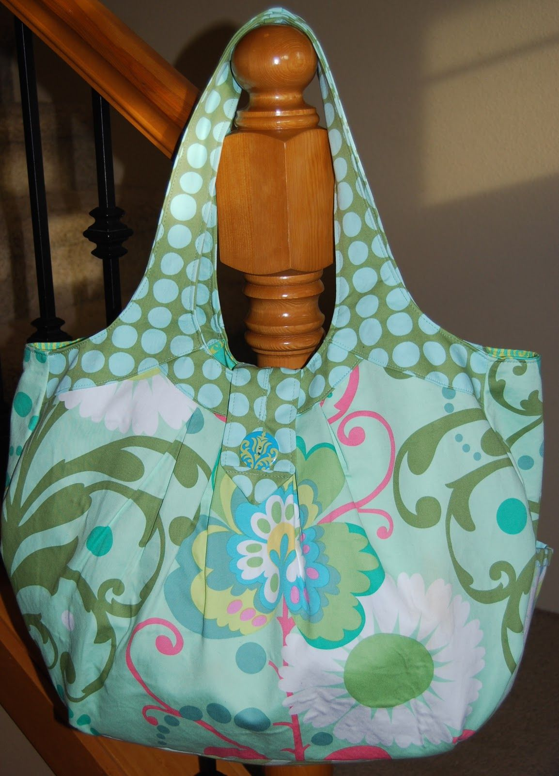 Amy Butler Bag Patterns | sleepless in Sandy: Amy Butler Cosmo bag ...