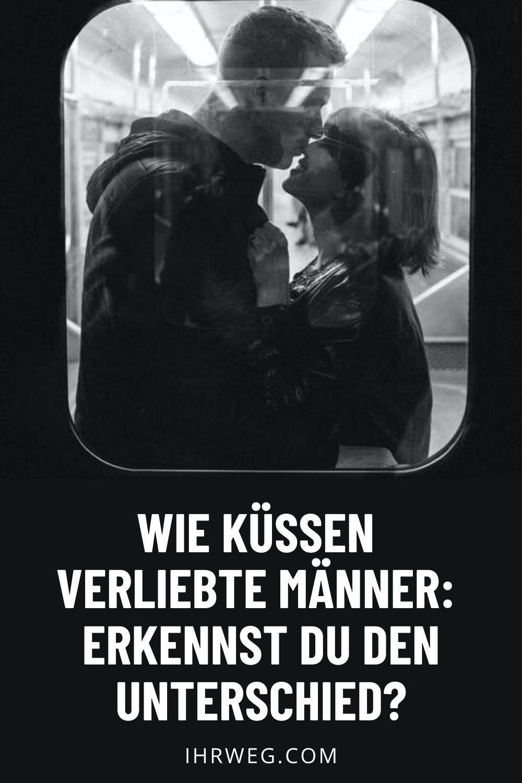 Verliebte männer küssen wie Chemie der