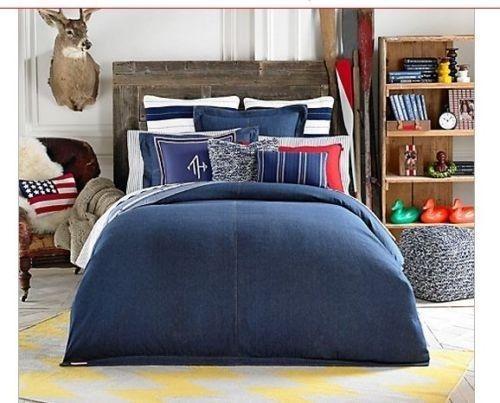4 Top Expert And Budget Friendly Kids Room Decorating Tips Denim Comforter Comforter Sets Tommy Hilfiger Bedding