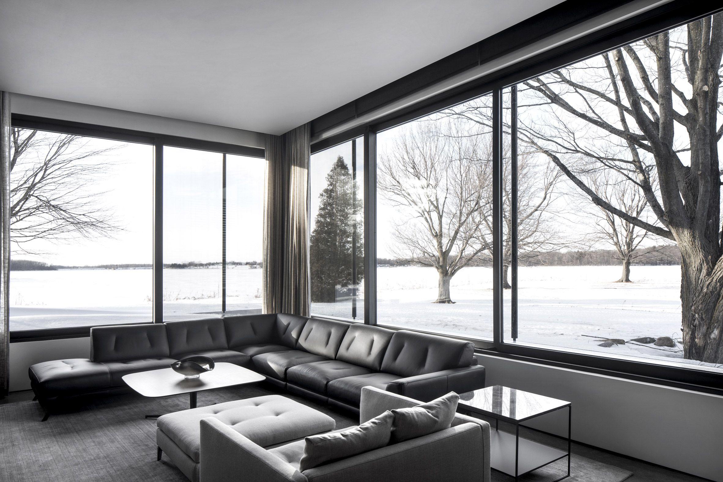 True north by alain carle architecte interj in 2018 pinterest