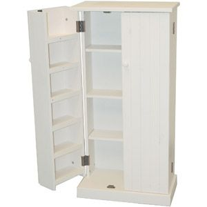 Tms Versatile Pantry White Walmart Com Wood Storage Cabinets Pantry Furniture Storage Cabinets
