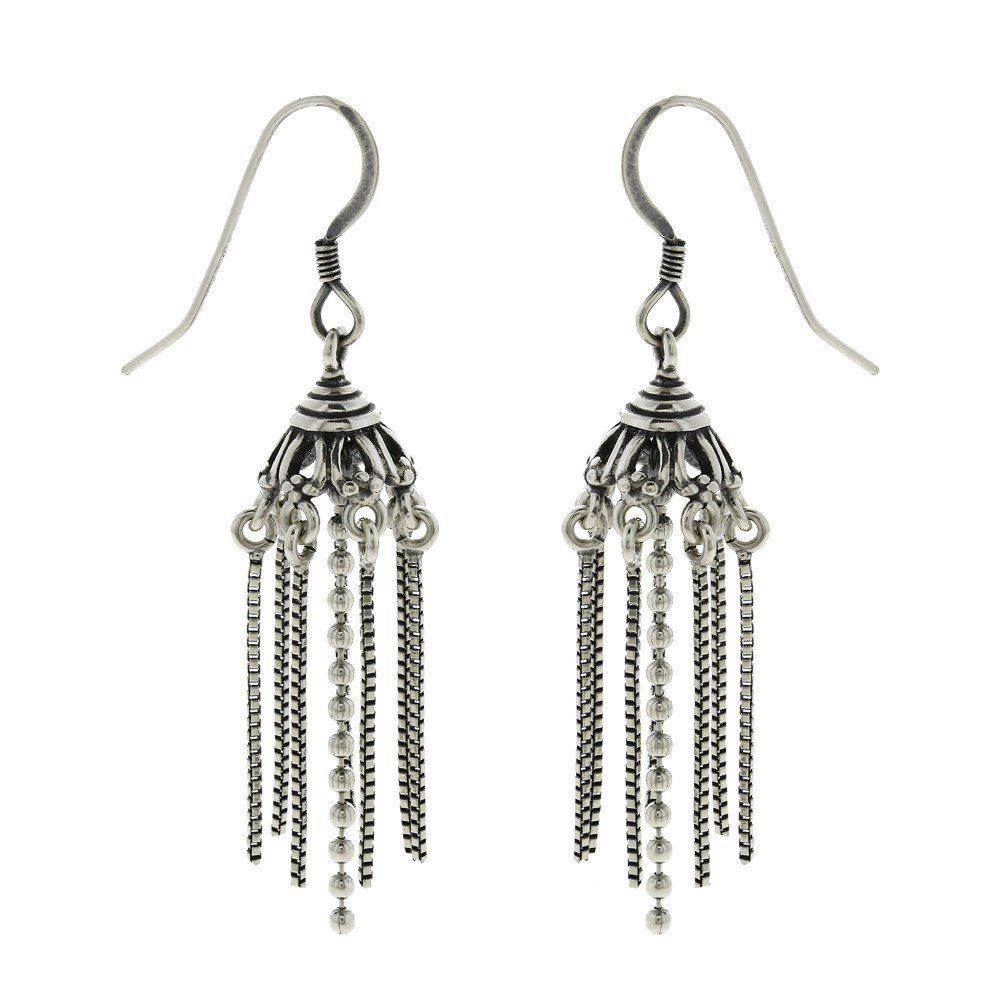 Amazon.in: Buy Silver Designer Jewellery For Women Dangle ...
