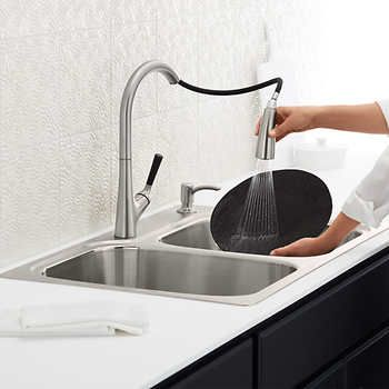 Kohler Stainless Steel Sink And Faucet Package Stainless Steel Sinks Kohler Sink Sink