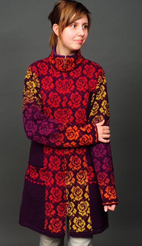 Kauni Lange Jacke Fair Isle Knitting Patterns Pretty