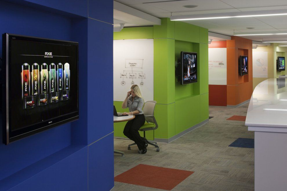 Unilever Americas Agile Office Gallery