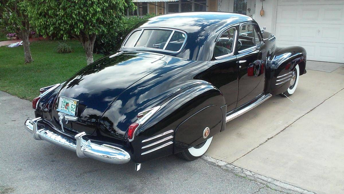 1941 cadillac 62 coupe model 6227