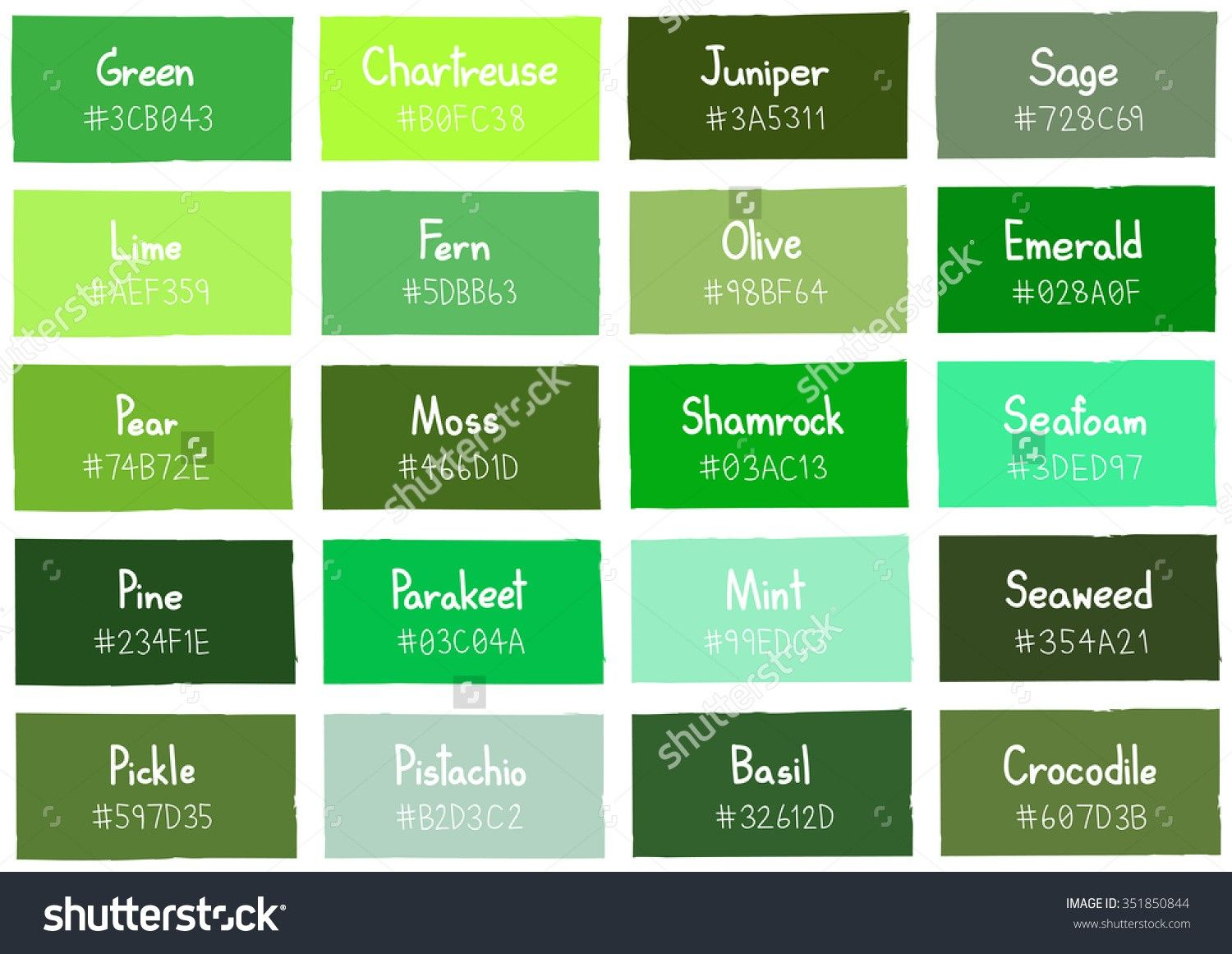 Home Design Different Shades Of Green Paint Pristine Colored