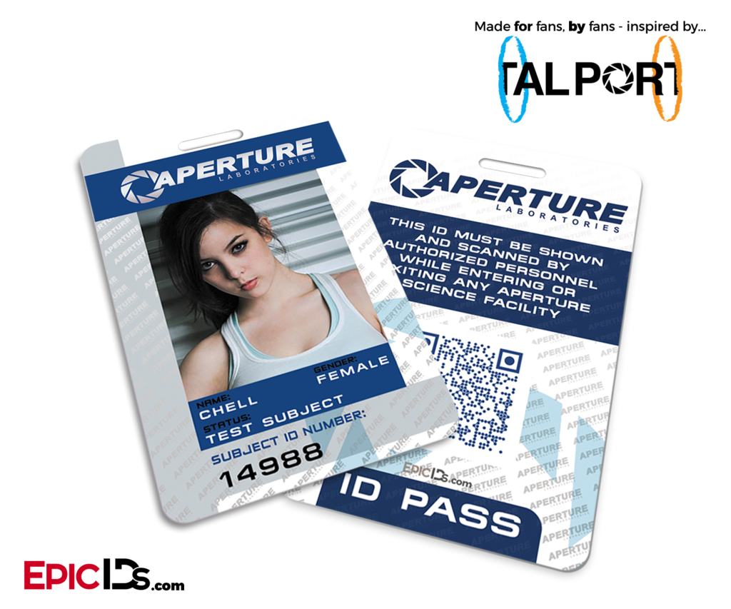 Make Your Own Id Card Press Pass Name Tag Or Any Other Kind Of