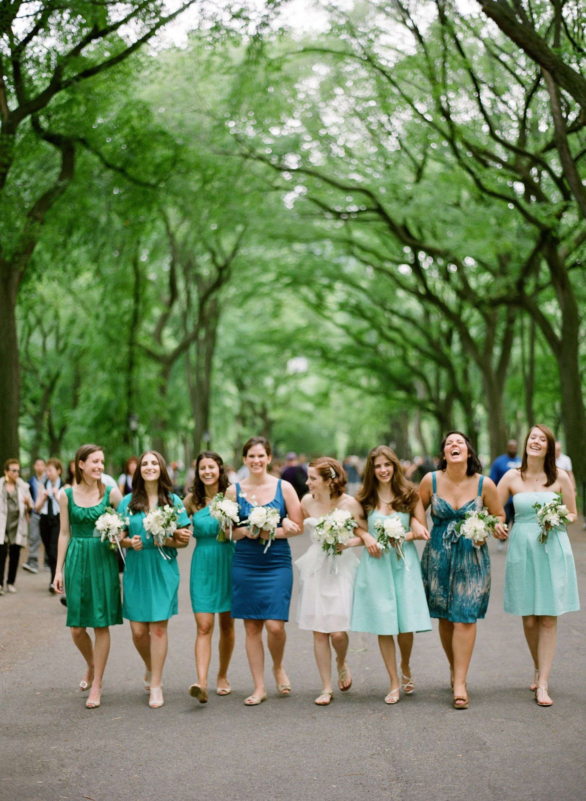 I wish all my bridesmaids lived in the same city. Love this photo from our wedding. (photo by katemurphyphotography.com)