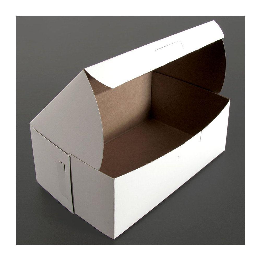 8 x 5 x 3 white cake bakery box 250bundle bakery