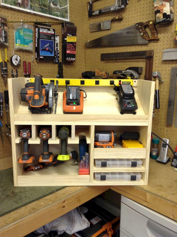 60 Genius Garage Organization Ideas Rangement Atelier Organiser Les Outils De Garage Rangement Outils