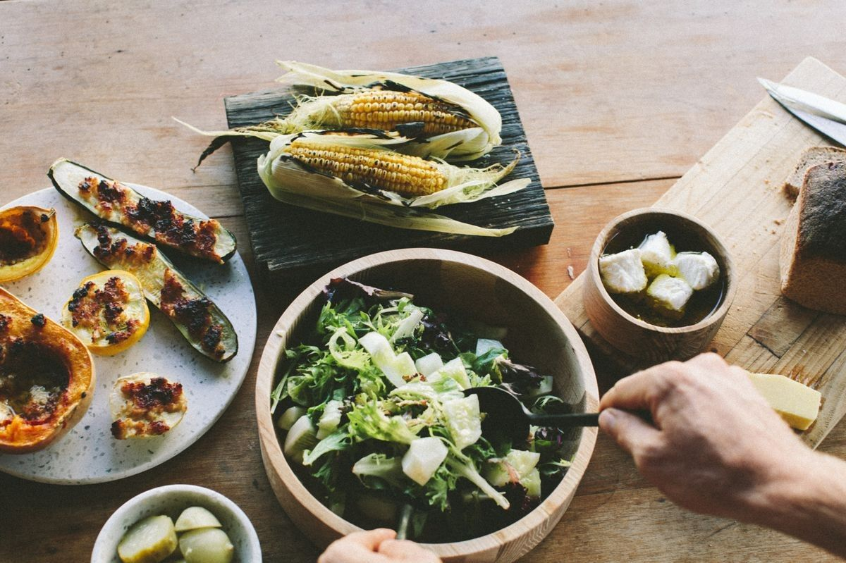 Recipe: miso roasted zucchini, squash and pumpkin: A recipe from Country Road's Live with Us interview with Grown and Gathered.