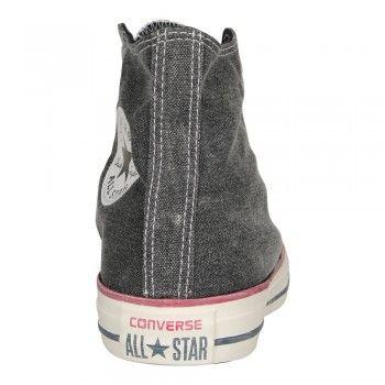 70ee98df43d6 Converse Unisex Sneaker Chuck Taylor All Star High Stone Wash schwarz