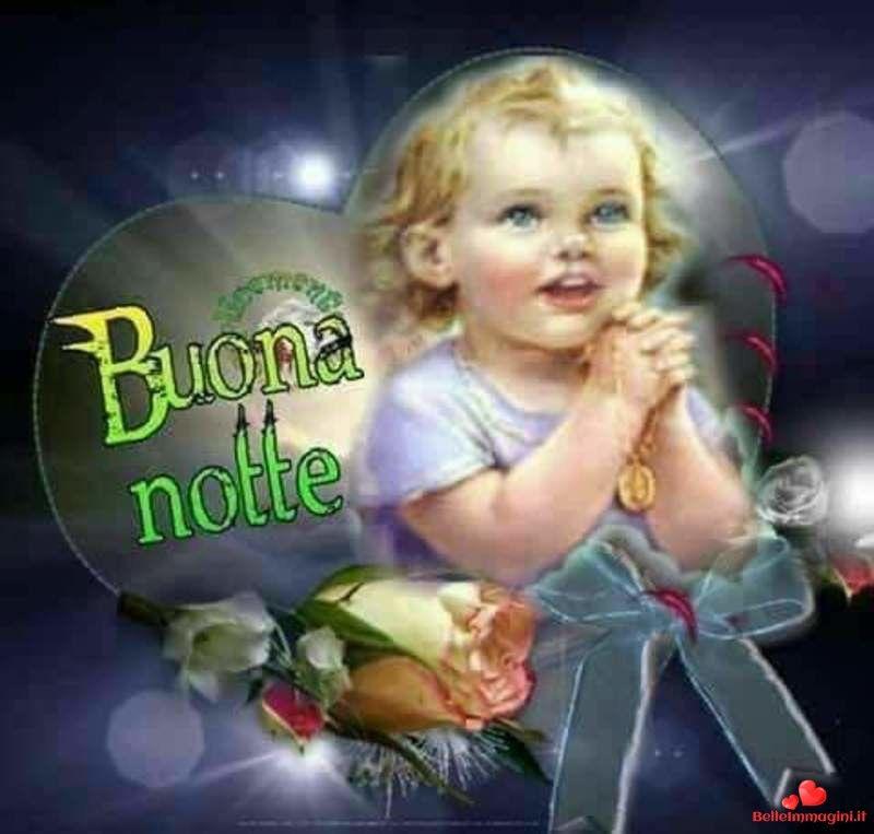 Immagini Di Buonanotte Con Bimbi Belle Per Whatsapp Bella