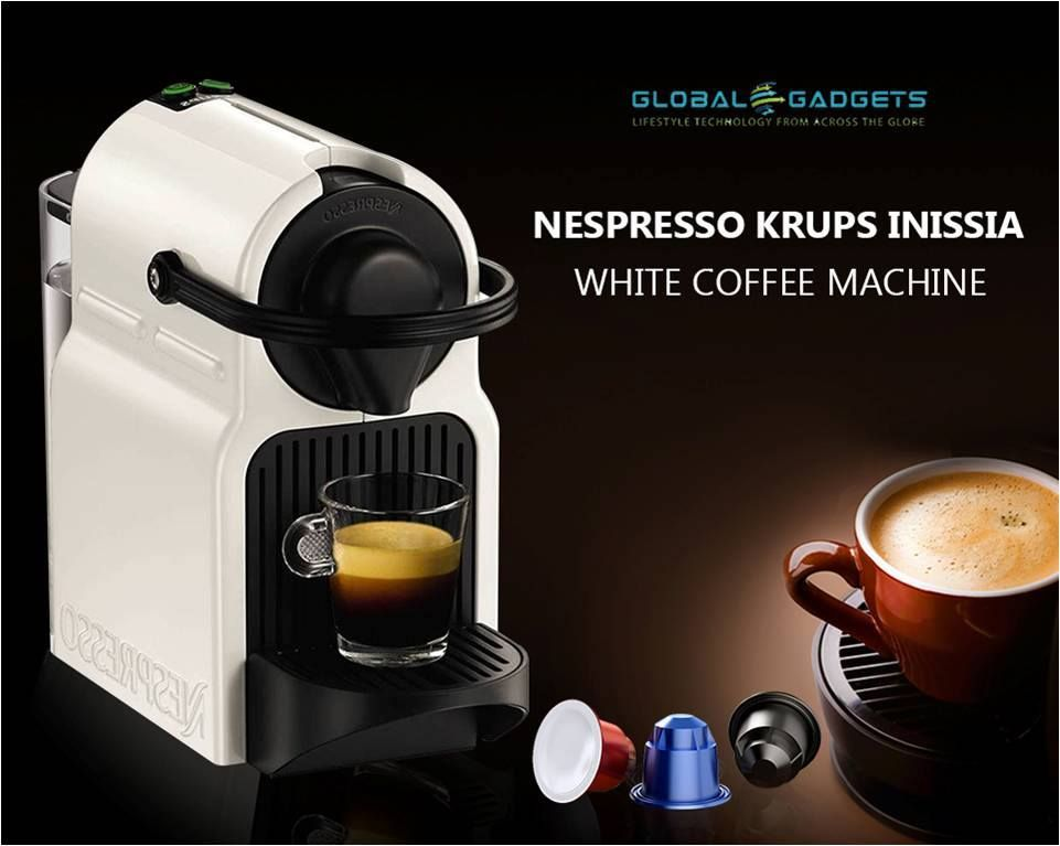 The Nespresso Inissia Coffee Machine is a simple, easy-to-use ...
