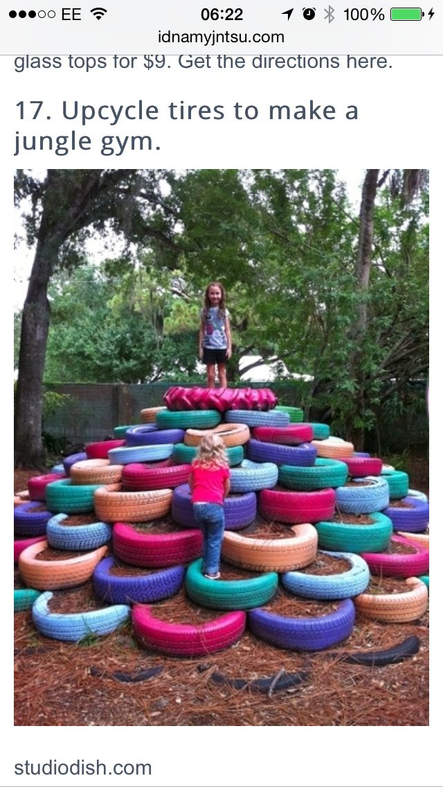 Tyre climbing frame swing sets you wish you had as a kid funny pictures about totally awesome do it yourself backyard ideas for this summer oh and cool pics about totally awesome do it yourself backyard ideas solutioingenieria Gallery
