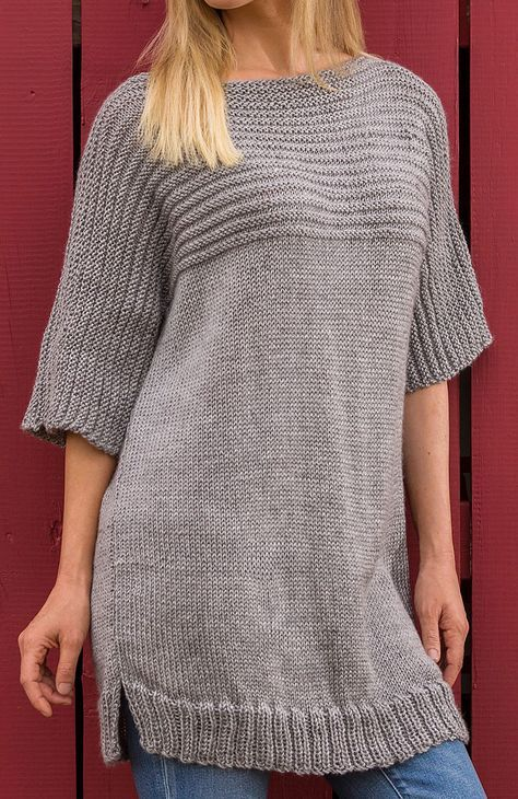 Free Knitting Pattern For Big Comfy Sweater Patterns Pinterest