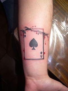 Ace Of Spades Tattoo Tatuajes Y Perforaciones As De Picas Tatuajes