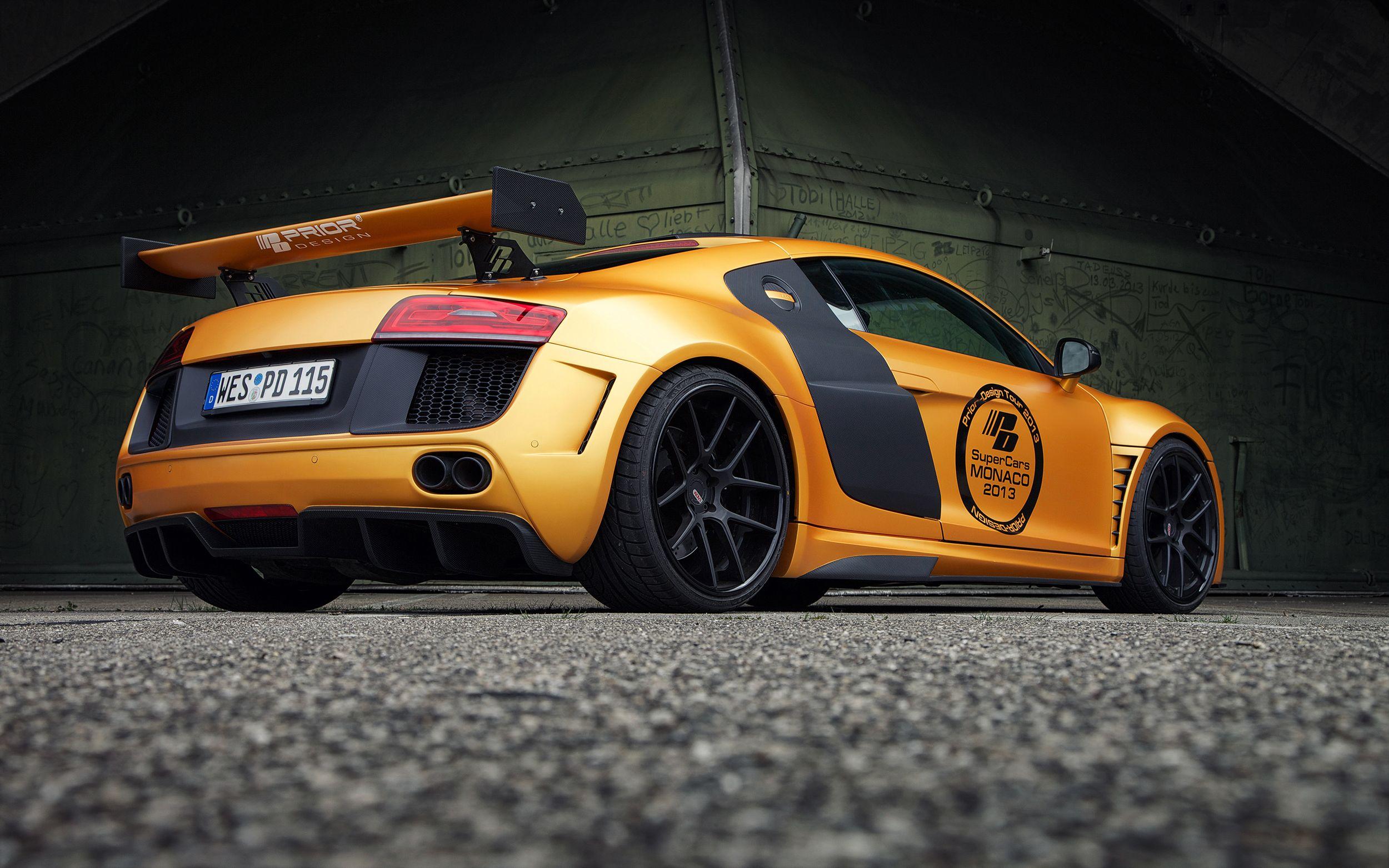 Audi R8 | @priordesign Widebody Aero-Kit PDGT850  Erhältlich bei www.prior-design.de  #audi #audiR8 #r8 #priordesign #widebody #bodykit #tuning #car #cars #carstyling #auto #autos #lifestyle #luxury #sportwagen #sportscar #quality #goodlife #carsofinstagram #follow #love #motorholic   Mehr Infos unter www.prior-design.de & in unserem Magazin www.motorholic.de